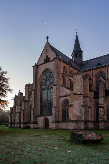 Altenberg Cathedral in autumn. Altenberg Cathedral Cathedral Autumn Altenberger Dom Altenberg Architecture Church Old Religion Cross History Construction Waste Rubble