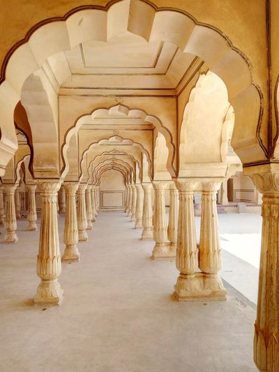 Pillars Marbled Arches Indoors  No People Amer Fort Casual Shot EyeEmNewHere Connected By Travel An Eye For Travel The Architect - 2018 EyeEm Awards The Traveler - 2018 EyeEm Awards