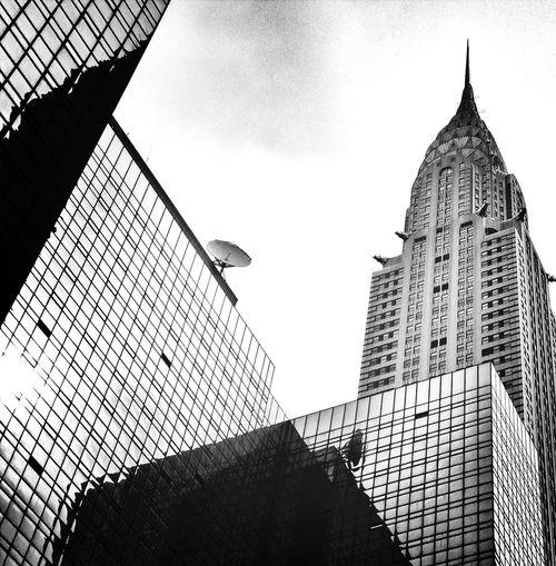 Architecture Reflection Newyork Building