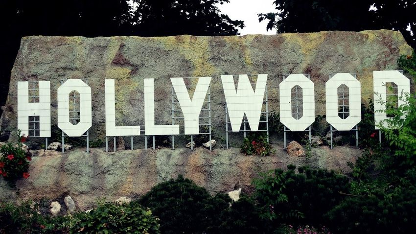 ..... Hollywood The Week On EyeEm Architecture Building Exterior Built Structure Day Minimundus Nature Text
