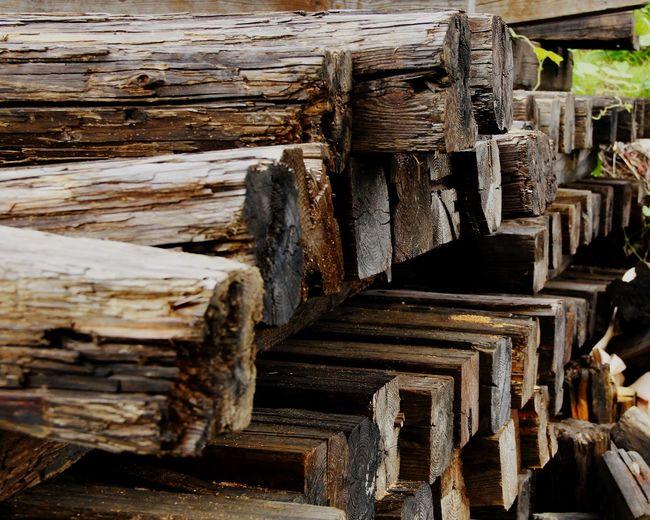 枕木 Wood - Material Stack Wood - Material