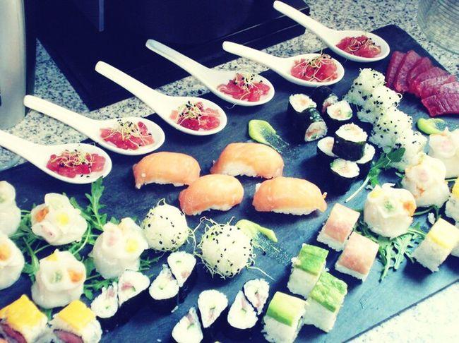 Eyeem Sushi Tomate Wasabi Salmon Sashimi Arroz Alga Jamon Nigiri Atùn