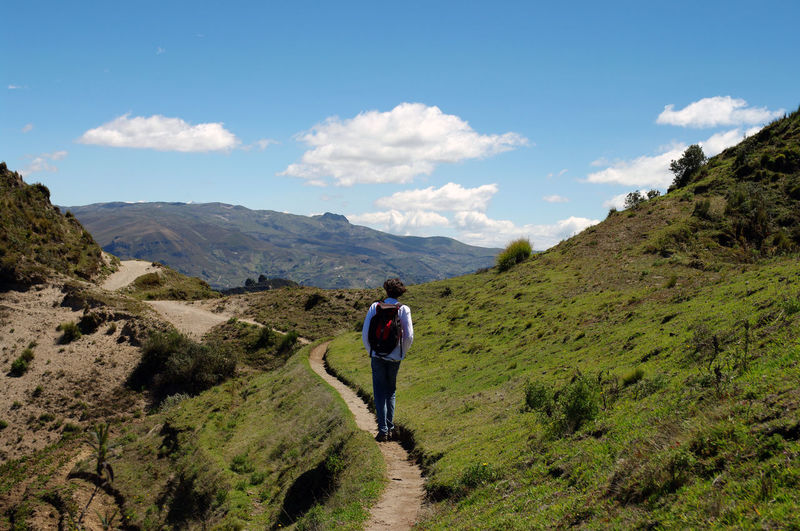 On the path of quilotoa