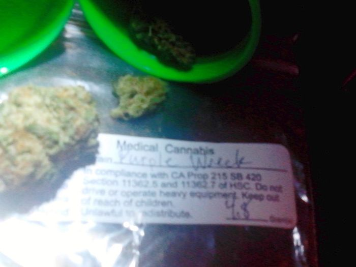 Best of both worlds...Purple haze and a train wreck... Sdmeds Spaceagehydroponics Trezz&meeh