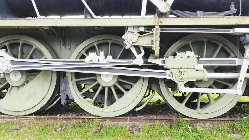Transportation Wheel Mode Of Transport Train Vehicle Old-fashioned Steam Train Outdoors No People Railway Railroad