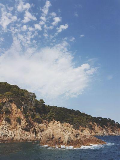 CostaBrava EyeEm Selects Vacances Holiday Lloretdemar Barcelona Spaın España Beach Water Sea Cloud - Sky Landscape Nature Outdoors Sand Sky Mountain No People Blue Day Tree Scenics Beauty Beauty In Nature Archipelago EyeEmNewHere