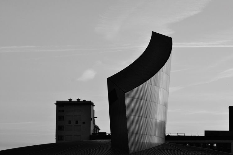 EyeEm Gallery Copy Space BuildingPorn Architecture And Art Architectural Art Built Structure Silhouette Architecture Architecture_bw Modern Architecture Built Structure Architecture Sky Low Angle View No People Building Exterior EyeEm Ready   Outdoors Day