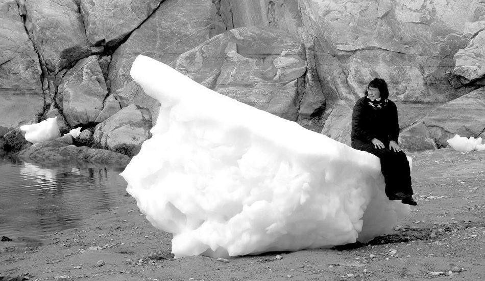 That iceberg is cold😰😨 Blackandwhite Black And White Blackandwhite Photography Black & White Black&white Black And White Photography Ilulissat The Real Greenland Enjoying Life Icebergs Blackandwhitephotography Black And White Portrait Hello World Beautiful Greenland Nature Photography EyeEm Nature Lover Nature_collection Check This Out Nature Naturephotography Iceberg Iceberg Climbing Blackwhite Black And White Collection
