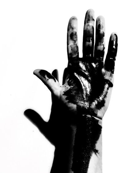 Inkpainting Human Hand Hand Human Body Part Human Finger Finger Body Part One Person White Background