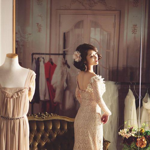 웨딩촬영📷 Check This Out Dress Wedding Photography Marriage  Wedding Flowers Renobatio Renobatio Dress