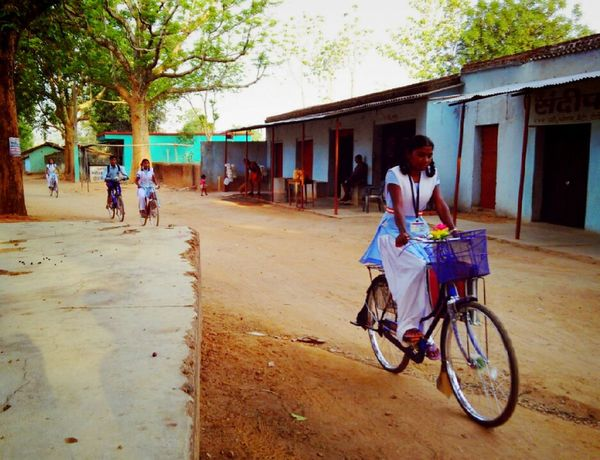 Girl Power Women Who Inspire You Women Empowerment Cycling Cycling To School Village Life Village Photography