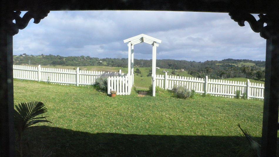 Australia Country Fence House Maleny Outdoors Queensland Victorian Housing