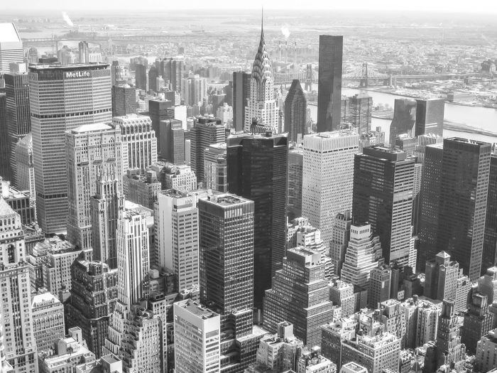 New York in 2008. Some Moments are once in a Lifetime. New York Aerial View Architecture Blackandwhite Photography Building Exterior Built Structure City Cityscape Crowded Day Downtown Downtown District Financial District  Growth High Angle View Modern Outdoors Sky Skyscraper Tall Tower Travel Destinations Urban Skyline