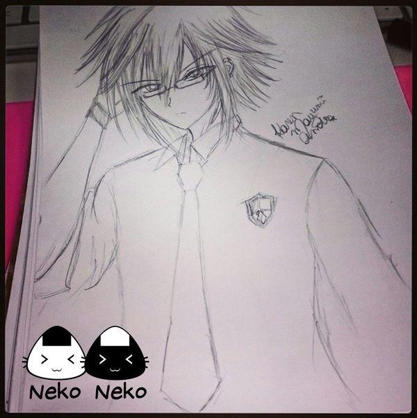 Drawing Draw Original Character Anime Manga Glasses Anime Boy Neko Neko