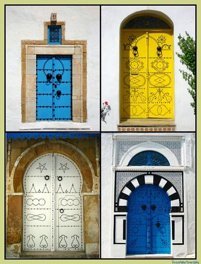 C'est ma période Tunisienne... Traveling Colors Tunisia AMPt_community My Love For Doors