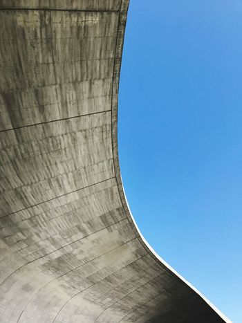 Clear Sky Architecture Building Exterior Outdoors Taiwan Nantou Curve IPhone Iphonephotography Sky Beauty Worldwide