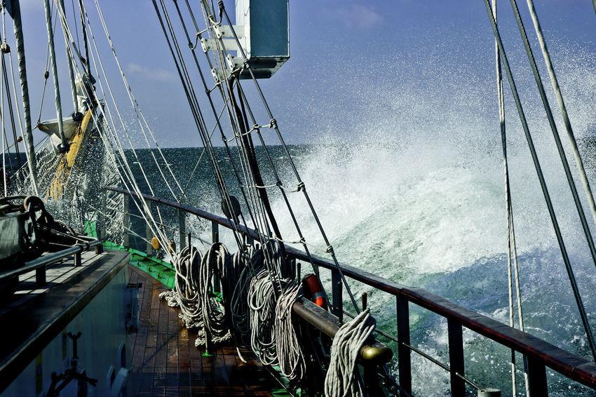 Tall Ship Tall Ships Heavy Weather North Sea Sailing Sea Spray Tall Ship Details Waves