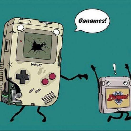 Game Go Retro! Zombie Gameboy