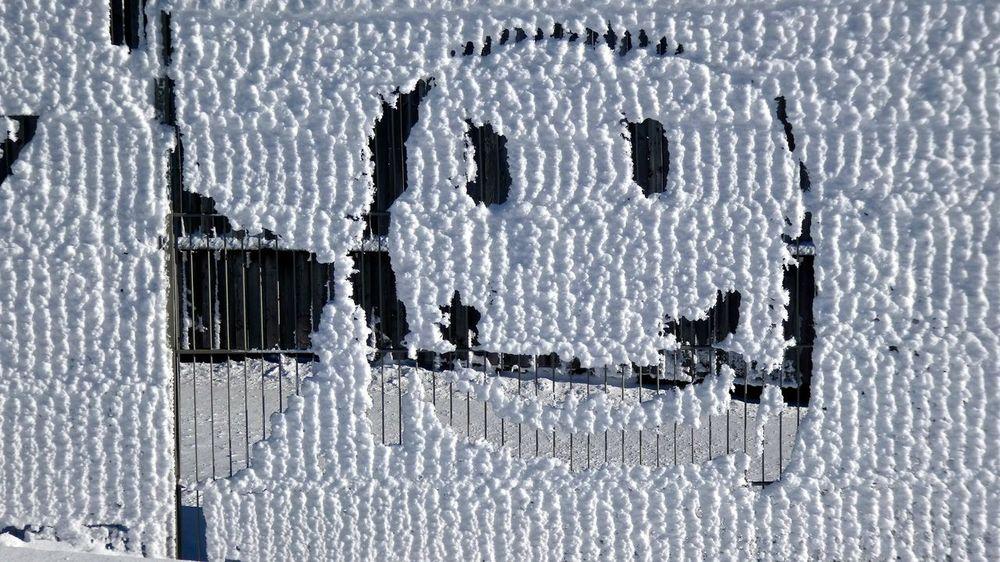 Cold Cold Days Cold Temperature Cold Winter ❄⛄ Day Fence Ice Kalt Kälte Schnee Schneekopf Smiley Smiley :) Smiley Face Snow Snow ❄ Thuringen Thüringen Erleben Thüringen_entdecken Thüringenentdecken Zaun
