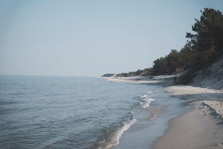 Bałtyk Baltic Półwysep Helski Balitic Sea Sea Water Sky Beach Land Beauty In Nature Scenics - Nature Clear Sky Horizon Day No People Nature