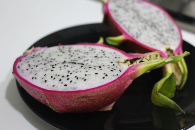 Close-up Composition Dragon Fruit Food Fruit Healthy Lifestyle Organic Red
