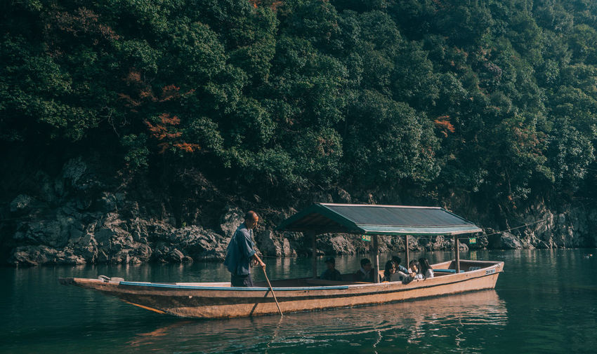 // kyoto in autumn // AMPt_community Japan Nature Shootermag EyeEm Best Shots EyeEm Nature Lover Boat Lake River Travel Destinations Travel Traveler
