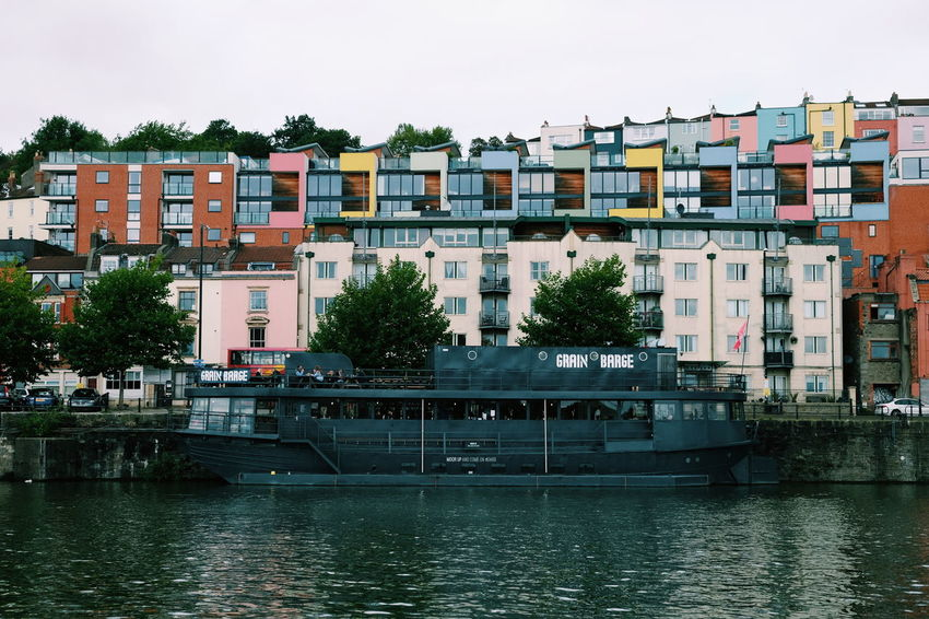 Best floating bar ever // Architecture Built Structure Building Exterior Nautical Vessel Waterfront Transportation Water River Mode Of Transport Day Outdoors Tree No People Residential Building Sky City Nature FUJIFILM X-T10 XF18-55mmF2.8-4 R LM OIS F/4.4 Iso 200 via Fotofall