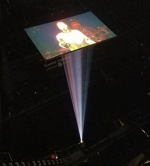 Jorja Smith Project Projection Musician Fun Night Sing Stage Light Performance Music Popular Music Concert Lighting Equipment Concert