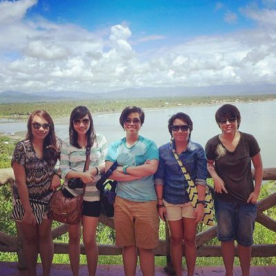 This qualifies as a Throwback photo. Baler Philippines Dysfunctionalfamily
