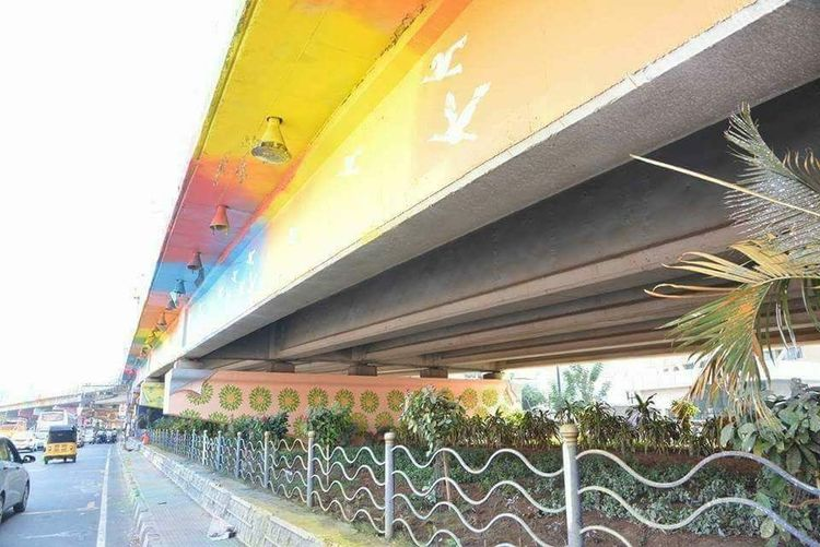 Architecture Multi Colored Flyover Built Structure Bridge Bridge - Man Made Structure Hyderabad I Love My City 💓💓 Njoying Myself I LOVE PHOTOGRAPHY Armature Photographer The Pursuit No Edit No Filter EyeEm Selects Eyem Gallery Eyeem Market EyeEm Incredible India With Love From India💚 truly..urs.. Nitin