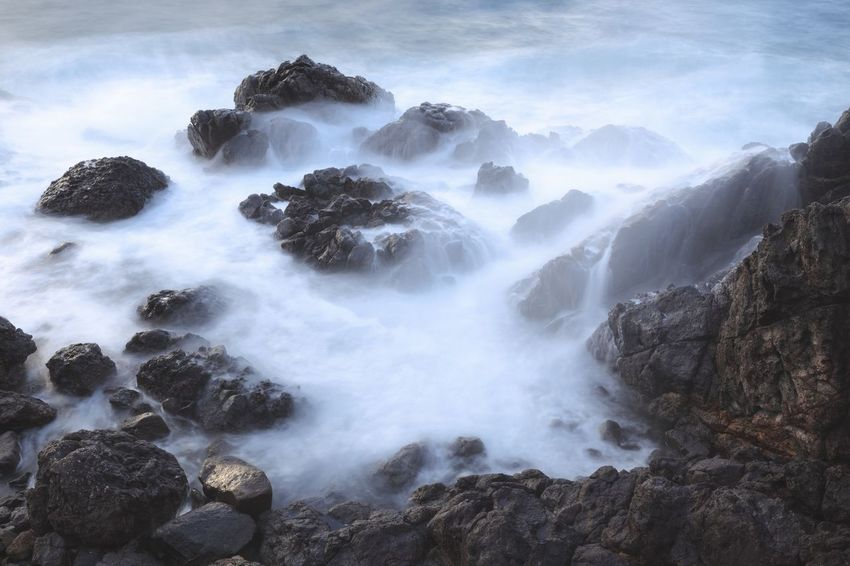 Beauty In Nature Nature Scenics No People Water Tranquil Scene Long Exposure Landscape Day Power In Nature Sea