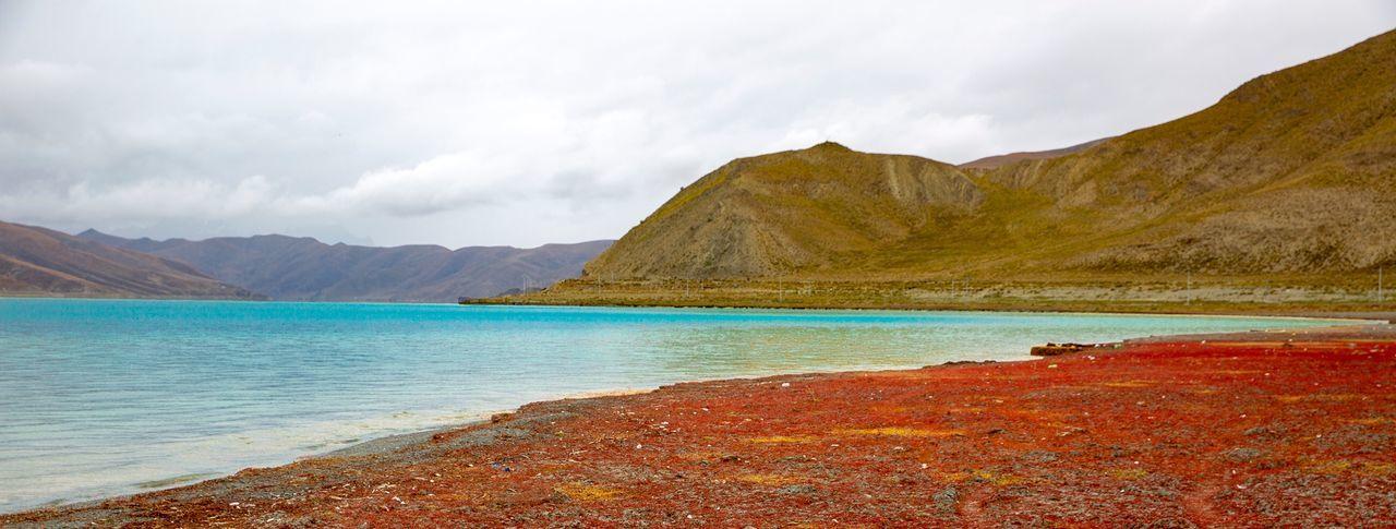 好心情(1) Mountain Beauty In Nature Scenics - Nature Water Tranquil Scene Sky Tranquility