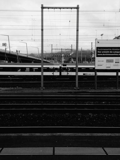 EyeEm Best Shots - Black + White Urban Geometry Train Tracks