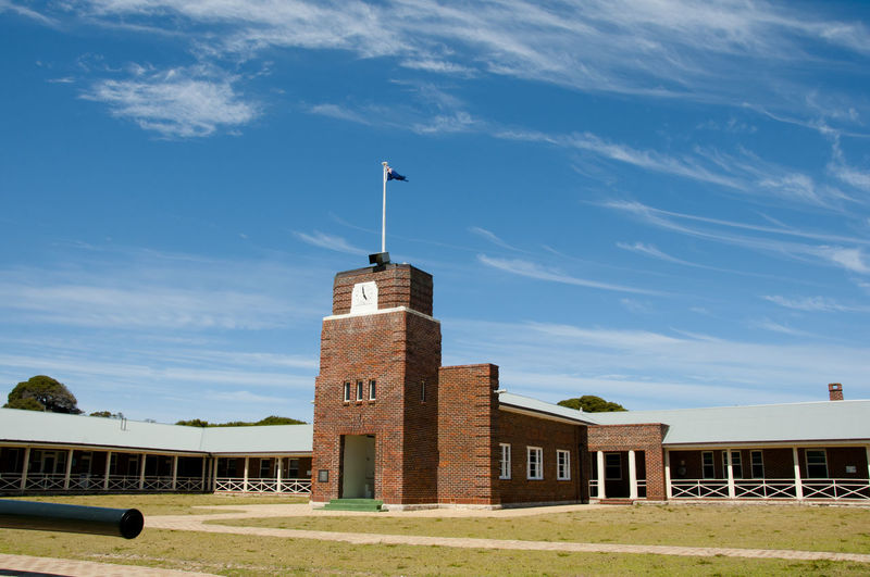 Kingstown Barracks - Rottnest Island Australia Kingstown Perth Rottnest Island Barracks Cirrus Sky Stratus
