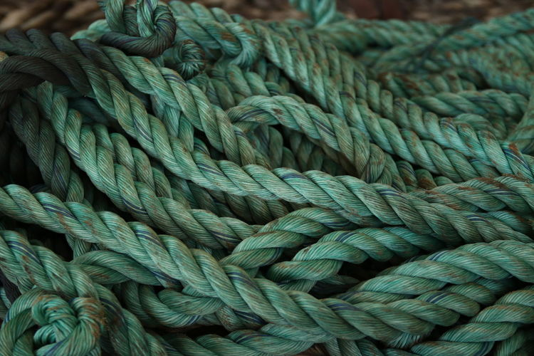 Detail Shot Of Ropes