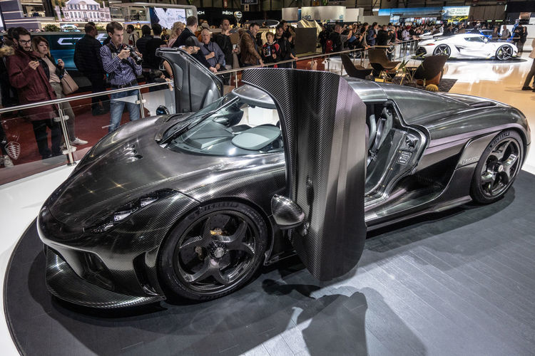 Mode Of Transportation Transportation Motor Vehicle Car Land Vehicle Luxury Koenigsegg Hypercar Sportcar Geneva GenevaInternationalMotorshow2019