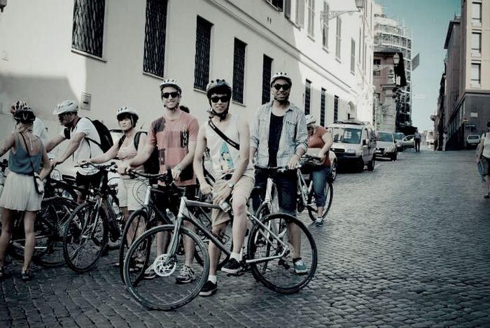 Love Rome Roma Cheese! Bike Tour Trestevere
