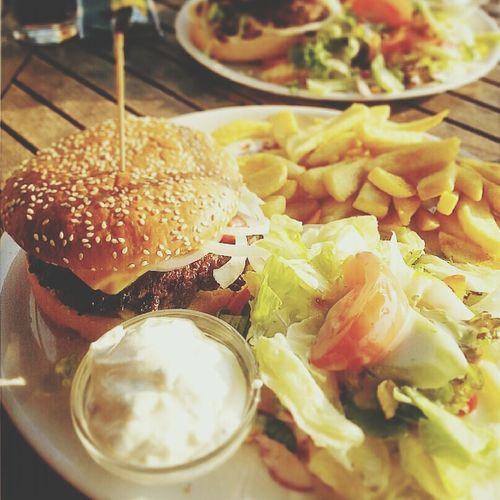 Delicious Lecker Burger Food