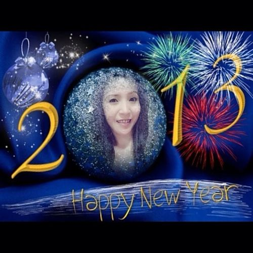 Happy New Year All My Friends, me wanna everyone Very happy
