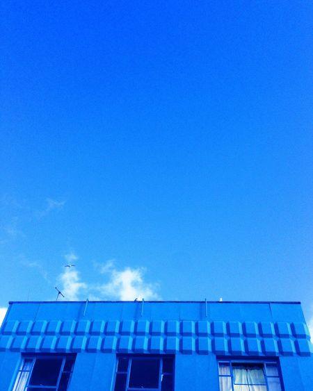 Blue Blue Sky Colors Colorful Urban Spring Fever Taking Photos Check This Out Vscocam England Torquay Travel Light Devon VSCO Sky