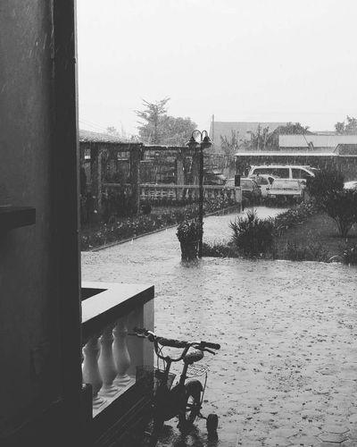 Rainy days at home! Rainy Days☔ Bycicle Outdoors PhonePhotography Phone Photography