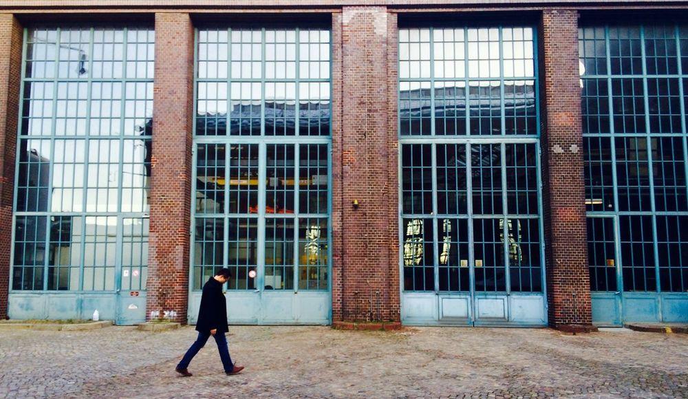 Monday Lonely Walk Technische Universität Berlin Autumn Colors Afternoon Walk Brick Window