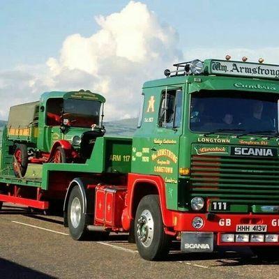 Car Truck Scania V8 Power