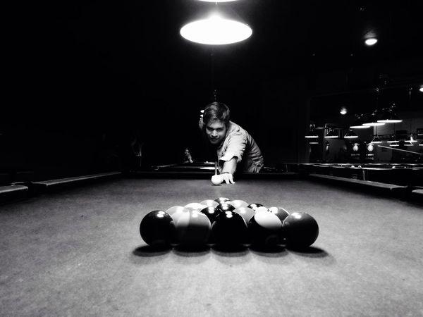 Billiards Billiard Pool Table Blackandwhite Photography Game