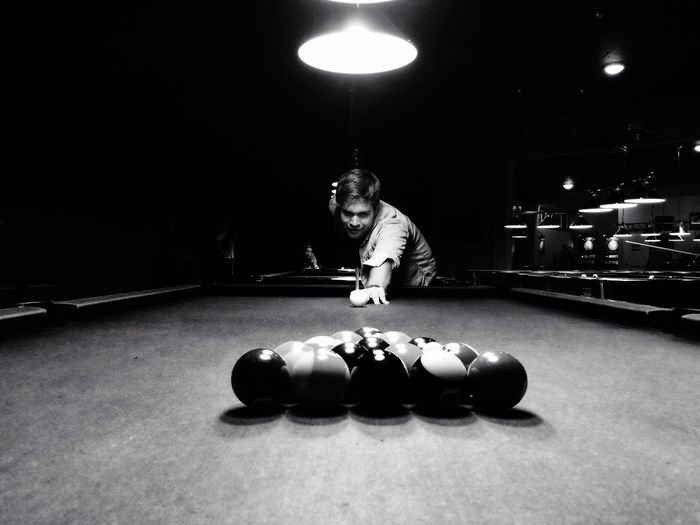 Billiards Billiard Pool Table Blackandwhite Photography Game