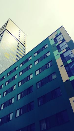 Student Life Accommodation Modern City Skyscraper Pixelated Sky Architecture Building Exterior Built Structure