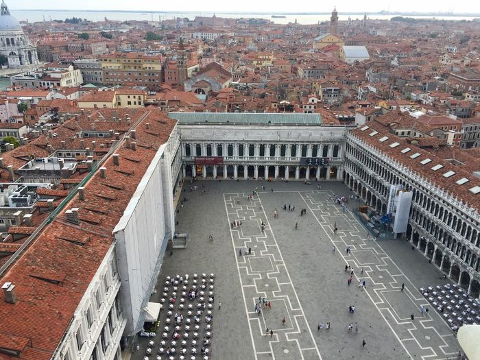 Piazza di San Marco 173169 Venezia Piazza San Marco Rooftop Rooftop View  People Rooftop Scenery Bar Chairs Chairs And Tables Restaurants Travel Travel Destinations Travel Photography
