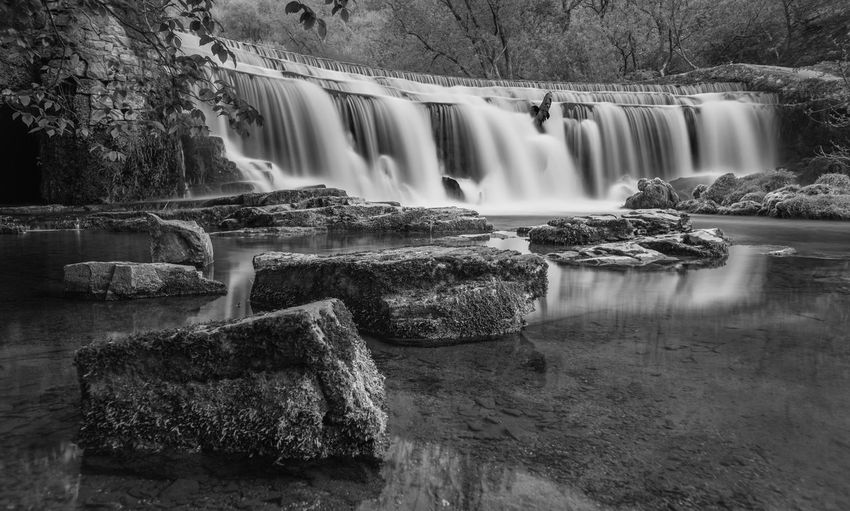Water Long Exposure Waterfall Flowing Water Scenics - Nature Motion Blurred Motion Rock Solid Rock - Object Flowing Beauty In Nature Nature Tree No People Day Rock Formation Plant Waterfront Outdoors Power In Nature Falling Water
