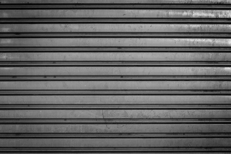 Stripped metal garage door background. Background Texture Door Garage Door Art Material Roller Shutter Door Stainless Steel  Texture Textures And Surfaces