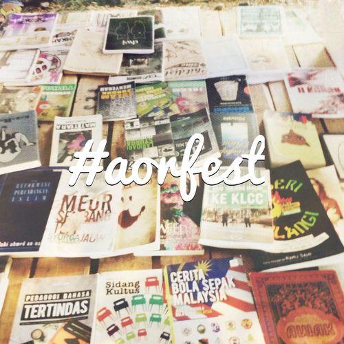 Buku jalanan kedah Aorfest